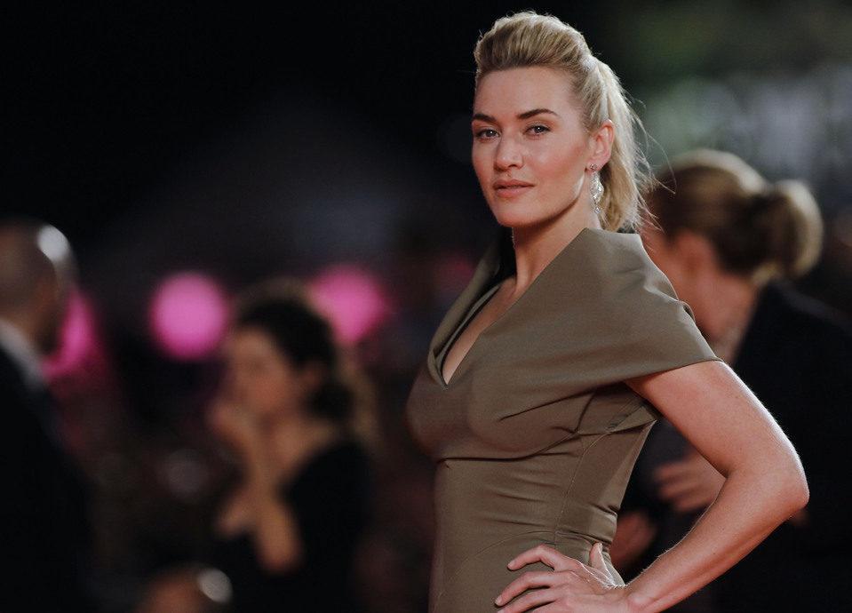 Kate Winslet en la alfombra roja del Festival de Venecia