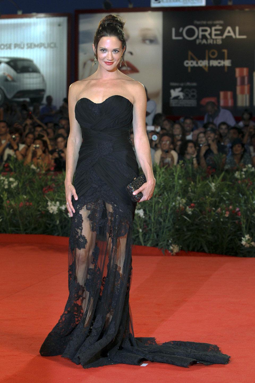 Asia Argento en el Festival de Venecia