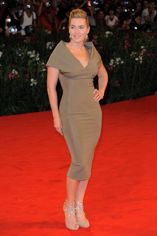 Kate Winslet, protagonista de 'Un dios salvaje', en Venecia