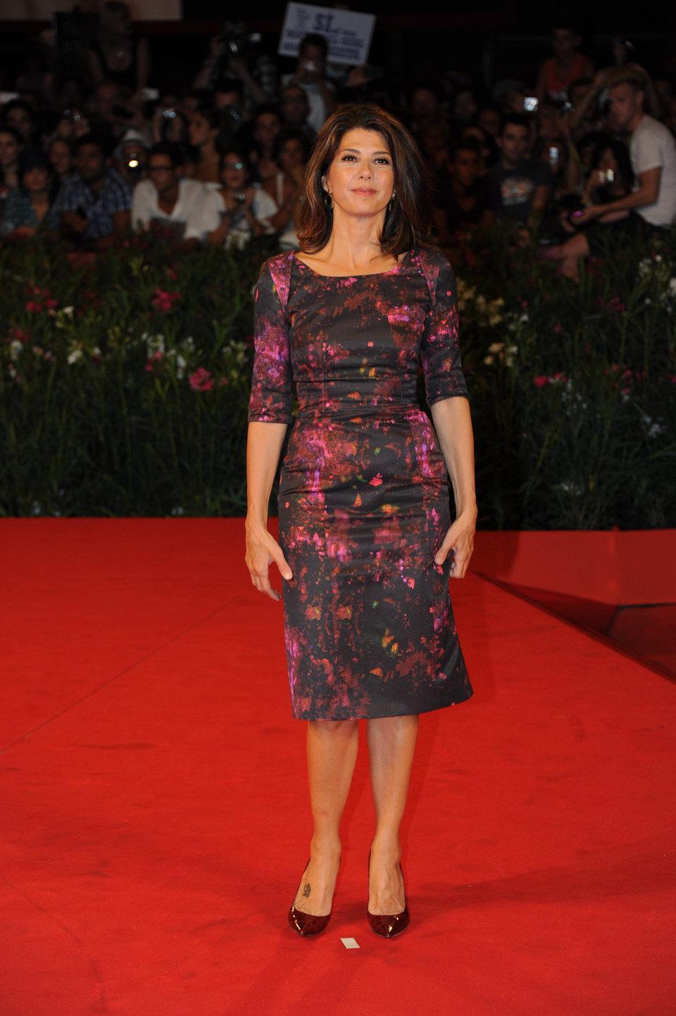 Marisa Tomei en la première de 'Un dios salvaje'