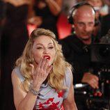 Madonna tiene problemas con el carmín en Venecia