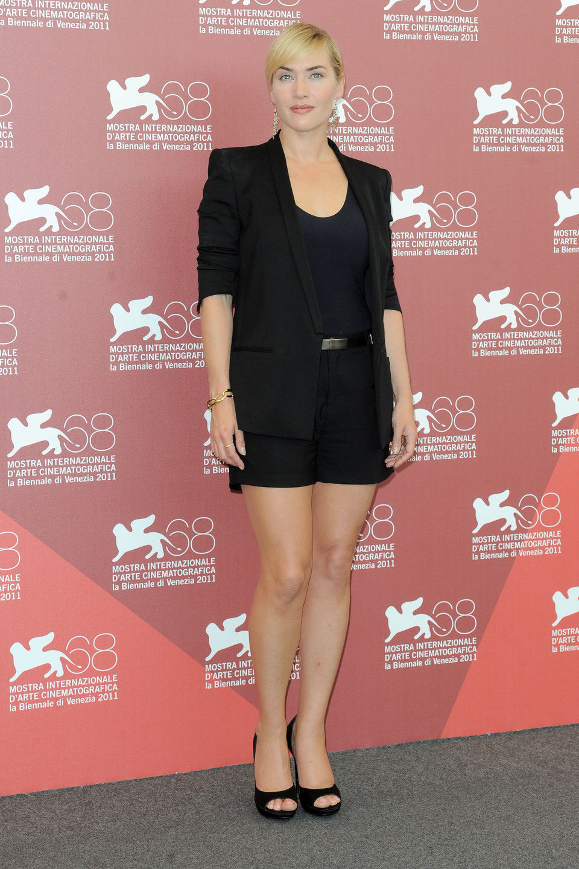 Kate Winslet presenta 'Mildred pierce' en Venecia