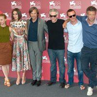 El equipo de 'Un método peligroso' en el Festival de Venecia