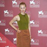 Sarah Gadon en el Festival de Venecia
