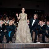Keira Knightley, entre aplausos, en el pase de 'Un método peligroso'
