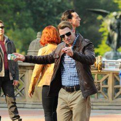 Chris Evans, Steve Rogers alias Capitán América, en 'Los Vengadores'