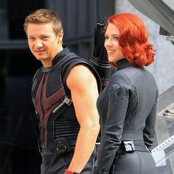Perfil de Scarlett Johansson como Viuda Negra