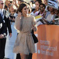 Keira Knightley llega a la premiére de 'Un método peligroso'