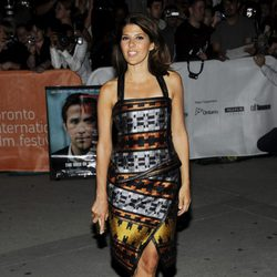 Marisa Tomei asistió a la premiére de 'The ides of march'