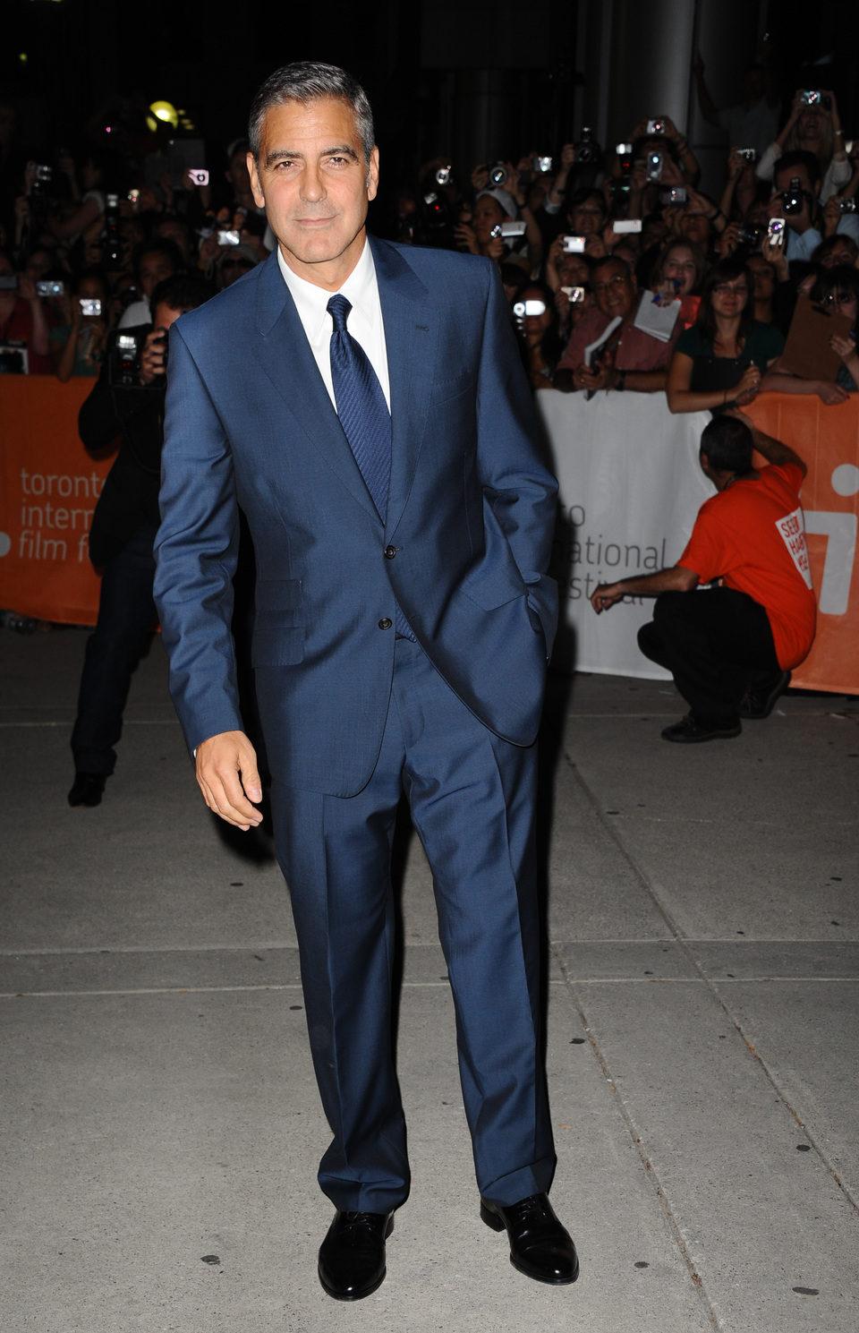 George Clooney presenta en Toronto 'The ides of march'