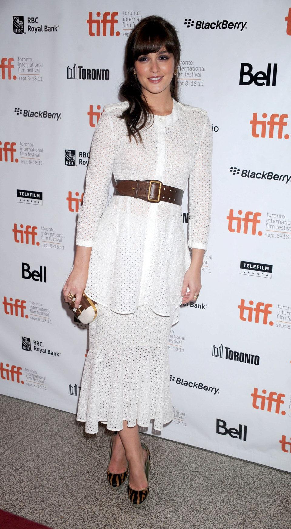 Leighton Meester en el Festival de Toronto