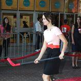 Emily Blunt coge un palo de hockey en el TIFF
