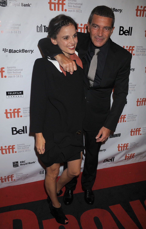 Antonio Banderas y Elena Anaya presentan 'La piel que habito' en Toronto