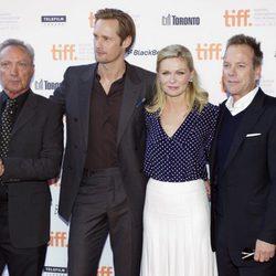 Udo Kier, Alexander Skarsgard, Kirsten Dunst y Kiefer Sutherland presentan en Toronto 'Melancolía'
