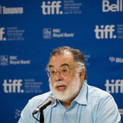 Francis Ford Coppola en el Festival de Toronto