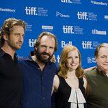 Gerard Butler, Ralph Fiennes, Jessica Chastain y Brian Cox presentan 'Coriolanus'