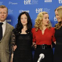 Abel Korzeniowski, Andrea Riseborough, Madonna y Abbie Cornish presentan 'W.E.' en el TIFF