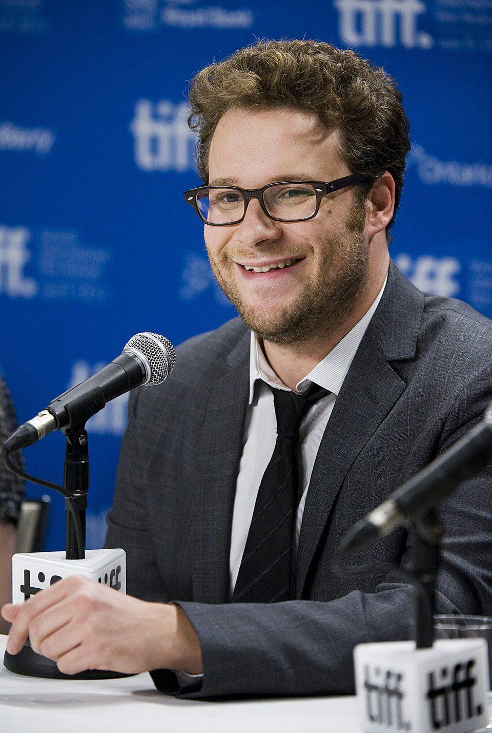 Seth Rogen presenta '50/50' en el Festival de Toronto