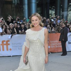 Abbie Cornish en la premiére de 'W.E.' en Toronto