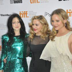 Andrea Riseborough, Madonna y Abbie Cornish presentan 'W.E.' en Toronto