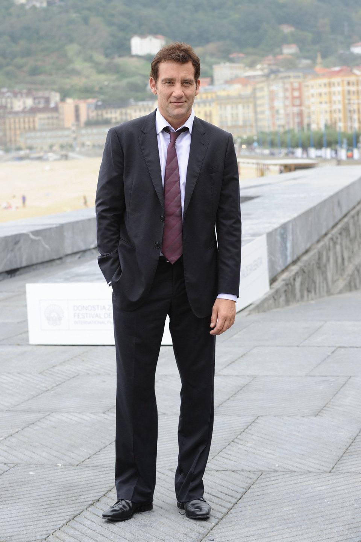 Clive Owen en la premiére de 'Intrusos' en el Festival de San Sebastián