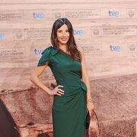 Bárbara Goenaga llega a la inauguración del Festival de San Sebastián