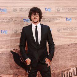 Óscar Jaenada en la inauguración del Festival de San Sebastián
