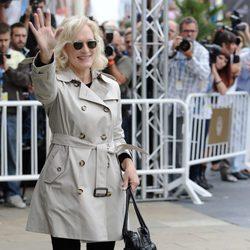 Glenn Close llega al Festival de San Sebastián