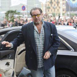 Julian Schnabel llega a San Sebastián