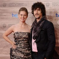 Manuela Vellés y Óscar Jaenada en San Sebastián