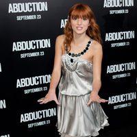 Bella Thorne en la presentación de 'Sin salida'