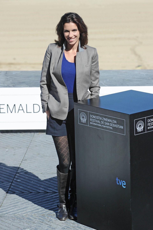Aure Atika posa en el Festival de San Sebastián