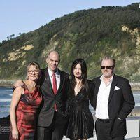 El equipo de 'Happy end' presenta la película en San Sebastián