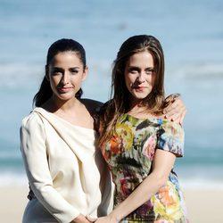 Inma Cuesta y María León presentan en San Sebastián 'La voz dormida'