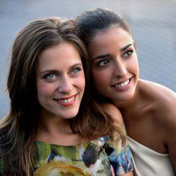 María León e Inma Cuesta sonríen en San Sebastián