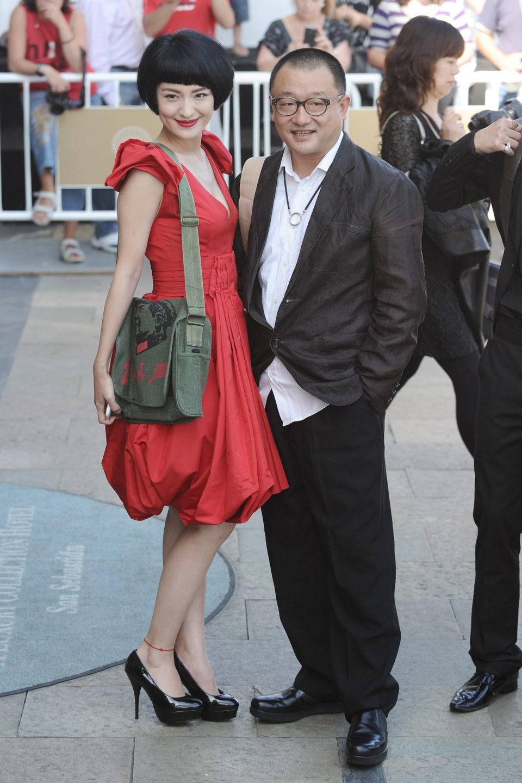 Ju Ze y Wang Xiao Shuai asisten al Festival de San Sebastián