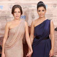 María León e Inma Cuesta llegan a la premiére de 'La voz dormida'