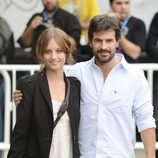 Michelle Jenner y Rodolfo Sancho en el Festival de San Sebastián