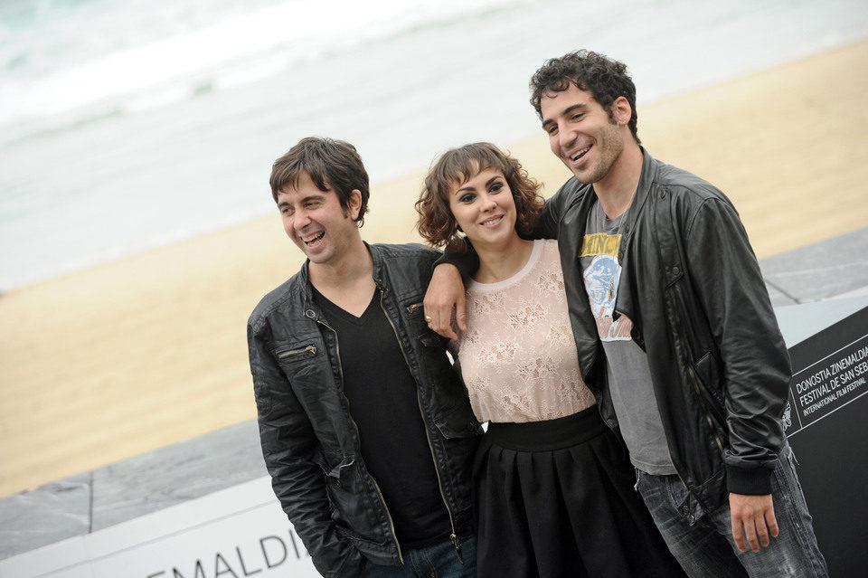 El equipo de 'Verbo' presenta la película en Donostia