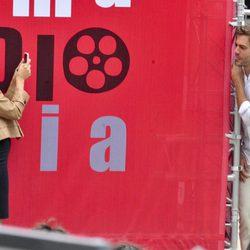 Ana de Armas y Marc Clotet disfrutan en el Festival de San Sebastián