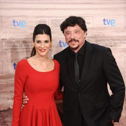 Cecilia Gessa y Carlos Bardem en la presentación de 'Americano'