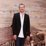 Michael Fassbender llega a la gala de clausura de San Sebastián 2011