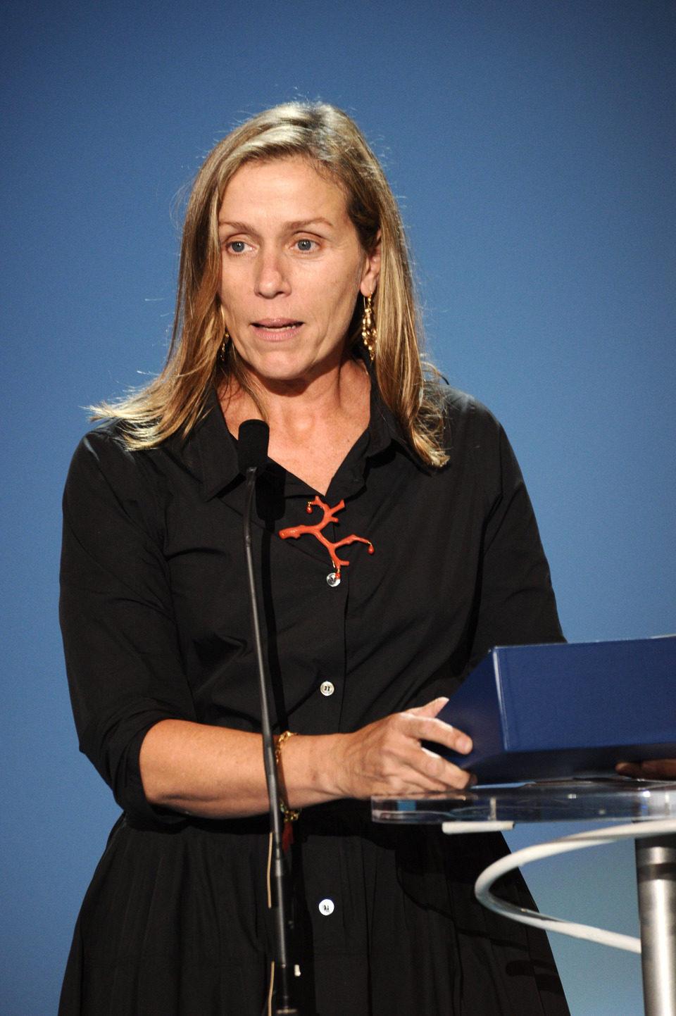 Frances McDormand clausura el Festival de San Sebastián