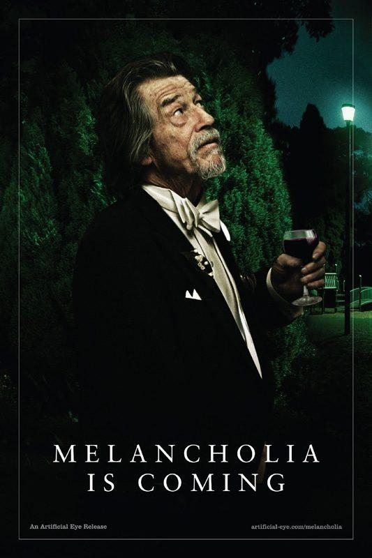 John Hurt en 'Melancolía'