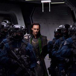 Loki junto a su ejército en 'Los Vengadores'