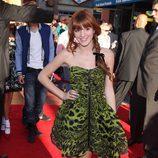 Bella Thorne en la alfombra roja de 'Acero puro'