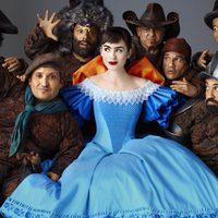 Blancanieves rodeada de sus siete enanitos en 'Snow White'
