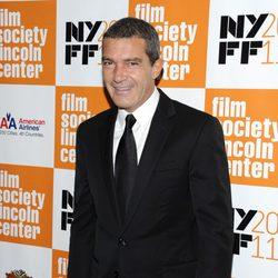 Antonio Banderas presenta 'La piel que habito' en el Festival de Nueva York