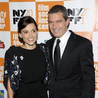 Elena Anaya y Antonio Banderas, protagonistas de 'La piel que habito', en Nueva York