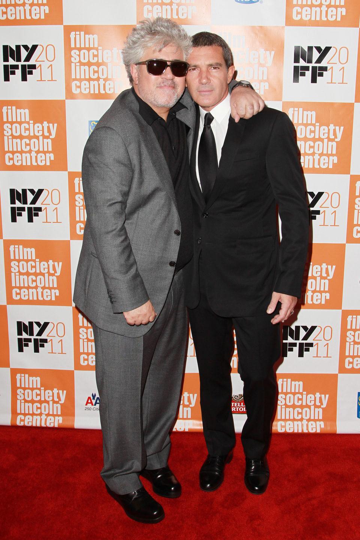 Pedro Almodóvar y Antonio Banderas presentan 'La piel que habito en Nueva York'